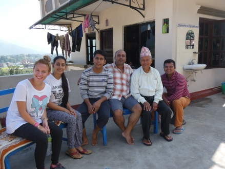 nuestra familia nepalí