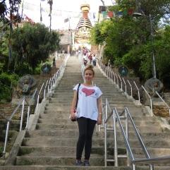 templo de los monos Katmadú